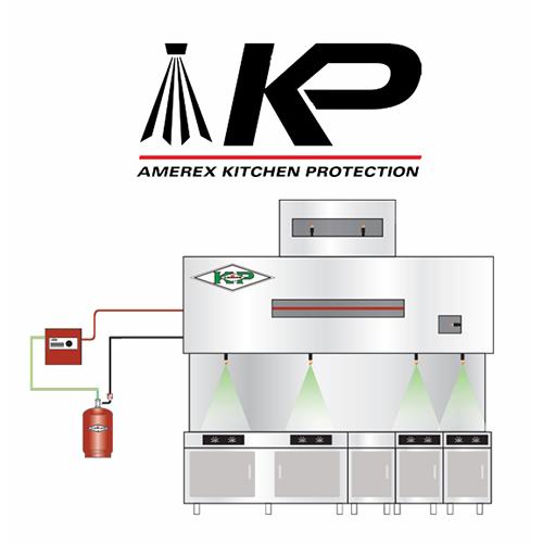 Sistema contra incendio Amerex KP