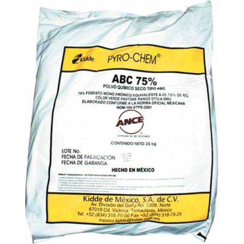 Bolsa de polvo ABC Pyro-Chem